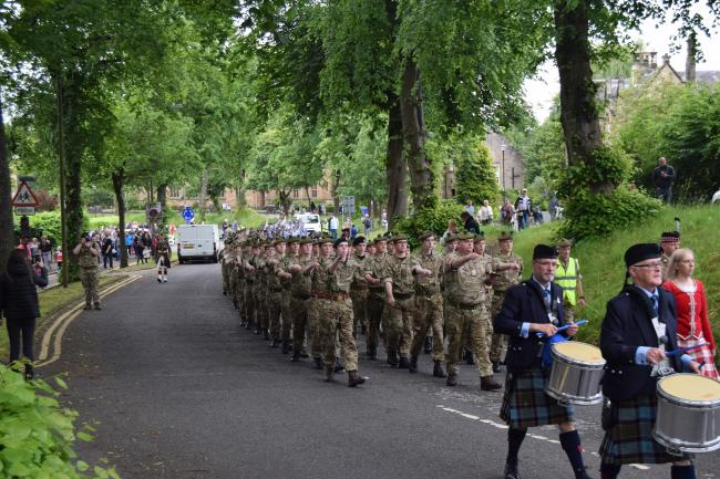 Armed Forces Day in Stirling