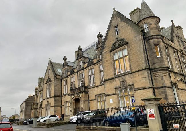 IN THE DOCK: The case called at Stirling Sheriff Court
