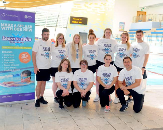 New learn to swim programme on offer - Picture by Whyler Photos Stirling