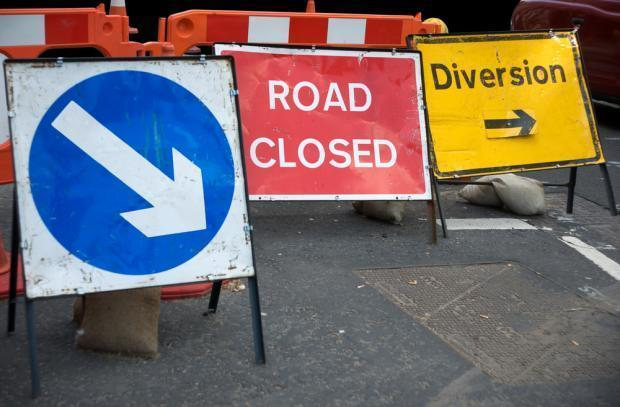 Diversions will be in place - stock image for illustration only