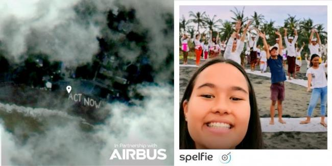 Spelfie: the company offering selfies from space
