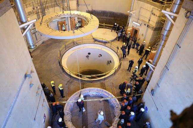 The Arak heavy water reactor