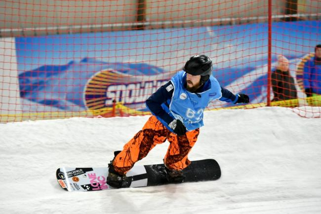 Team GB para snowsport athlete Andrew McLeod will officially open the season