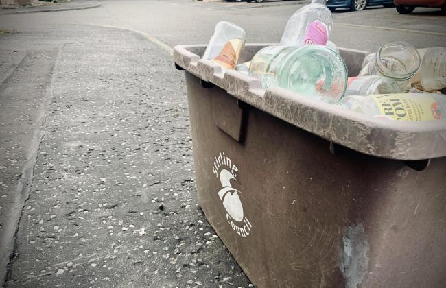 Changes to Stirling bin collection service