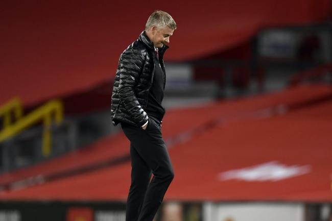 Manchester United manager Ole Gunnar Solskjaer saw his side held by Southampton