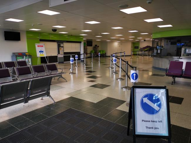Stirling Bus Station re-opened this week