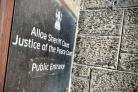 IN THE DOCK: The case called at Alloa Sheriff Court last week