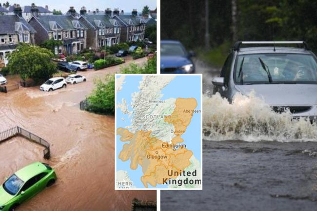 Storm Francis: Flood warnings issued with 30 hours of heavy rain forecast
