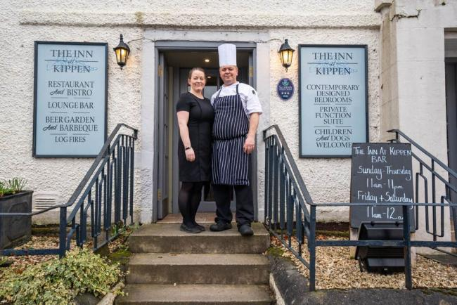 Paul Smith and Laura Carey, owners of Inn at Kippen