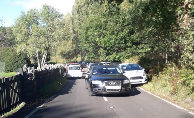 Around 70 penalties were handed out on the A821 near Ben A'nn - Picture supplied by Stirling Council
