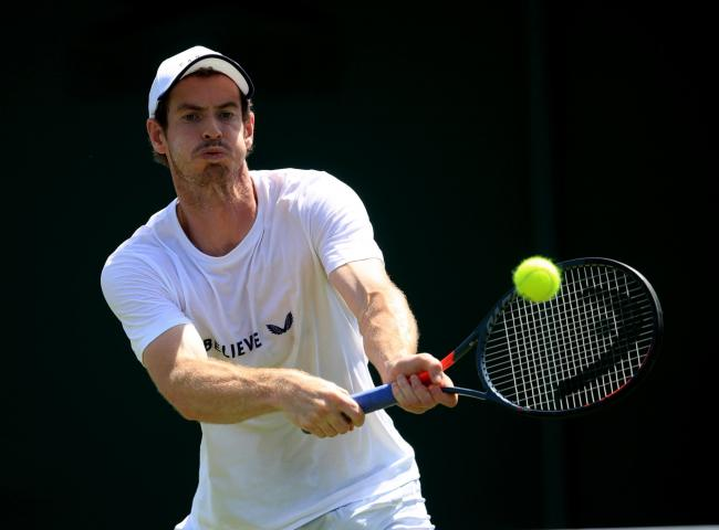 File photo dated 29-06-2019 of Andy Murray..
