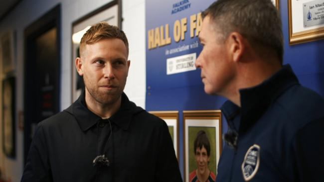 Rangers player Scott Arfield and Chris' dad Philip feature in the film highlighting Chris' legacy