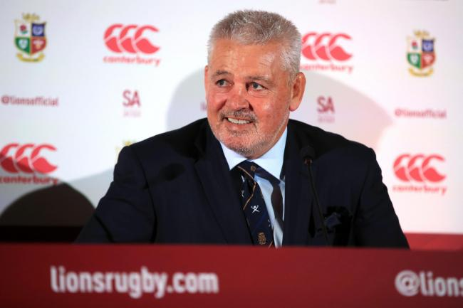 British and Irish Lions head coach Warren Gatland will take his team to Jersey for their training camp