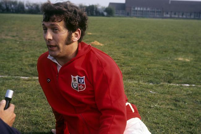 British and Irish Lions captain John Dawes, pictured in 1971