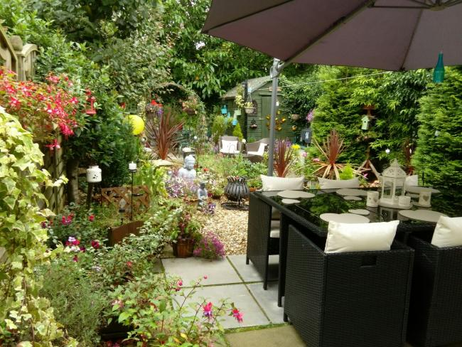 Margaret Beaton has won Bannockburn Community Council's Garden in Bloom competition