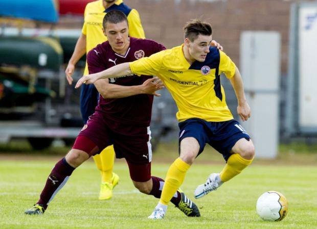 Sean Dickson was the match winner for Stirling Albion