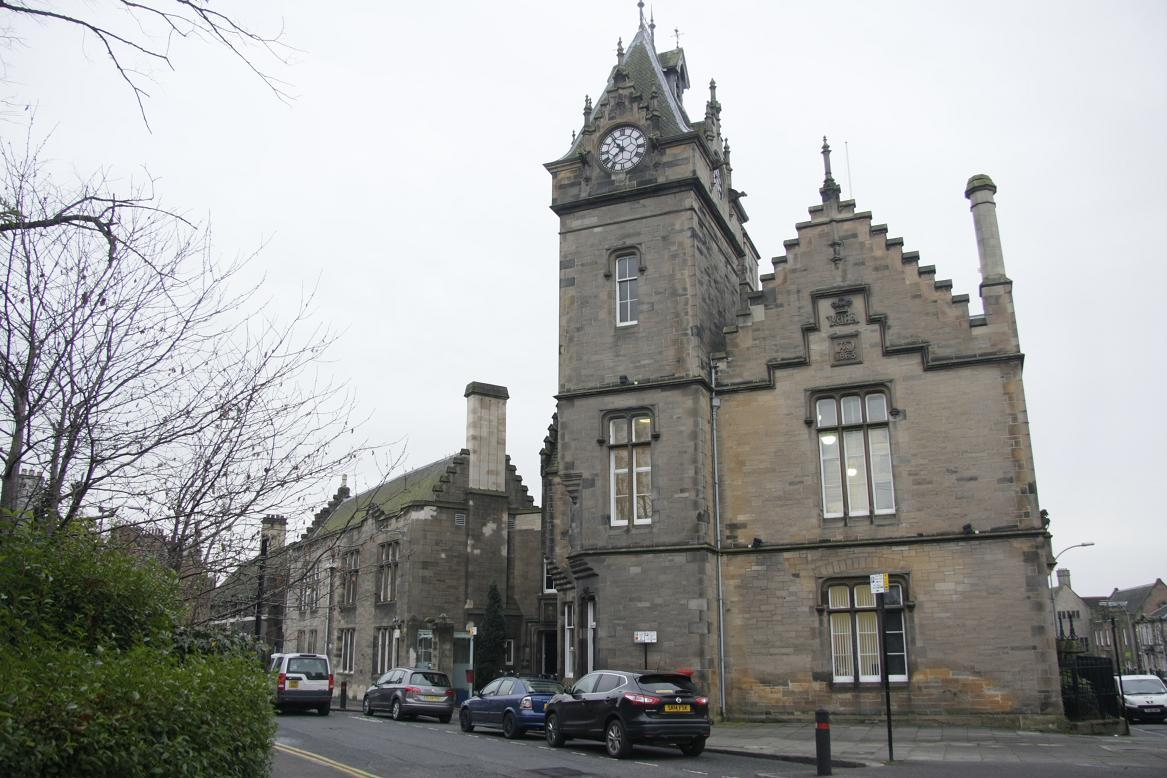 Alloa Sheriff Court.