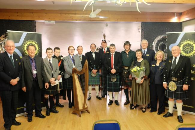 The Bridge of Allan and Dunblane Rotary Club held their Burns Supper recently