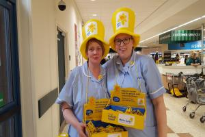 Morrisons shoppers in Stirling raise almost £2,500 for Marie Curie