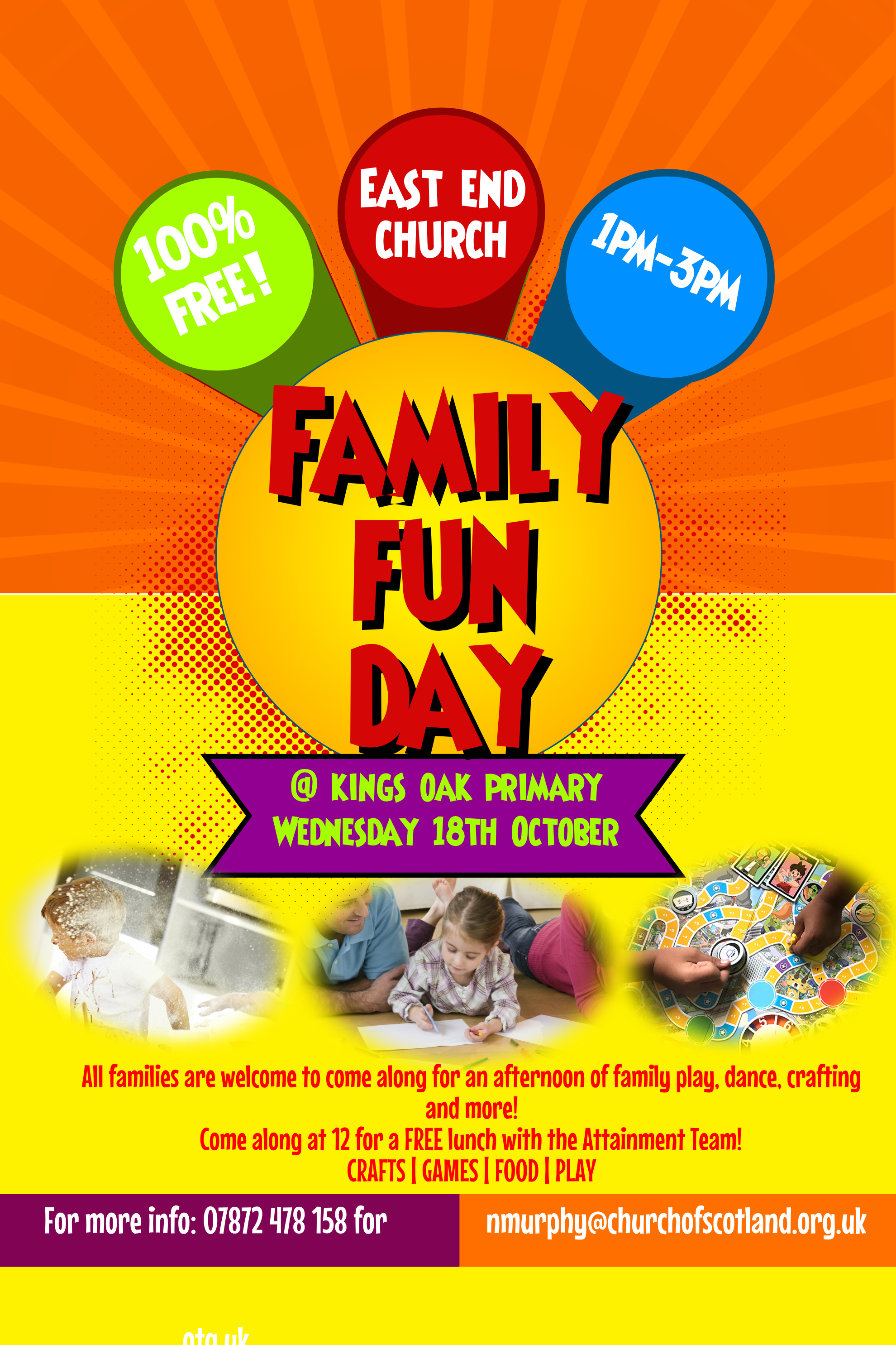East End Church Family Fun Day