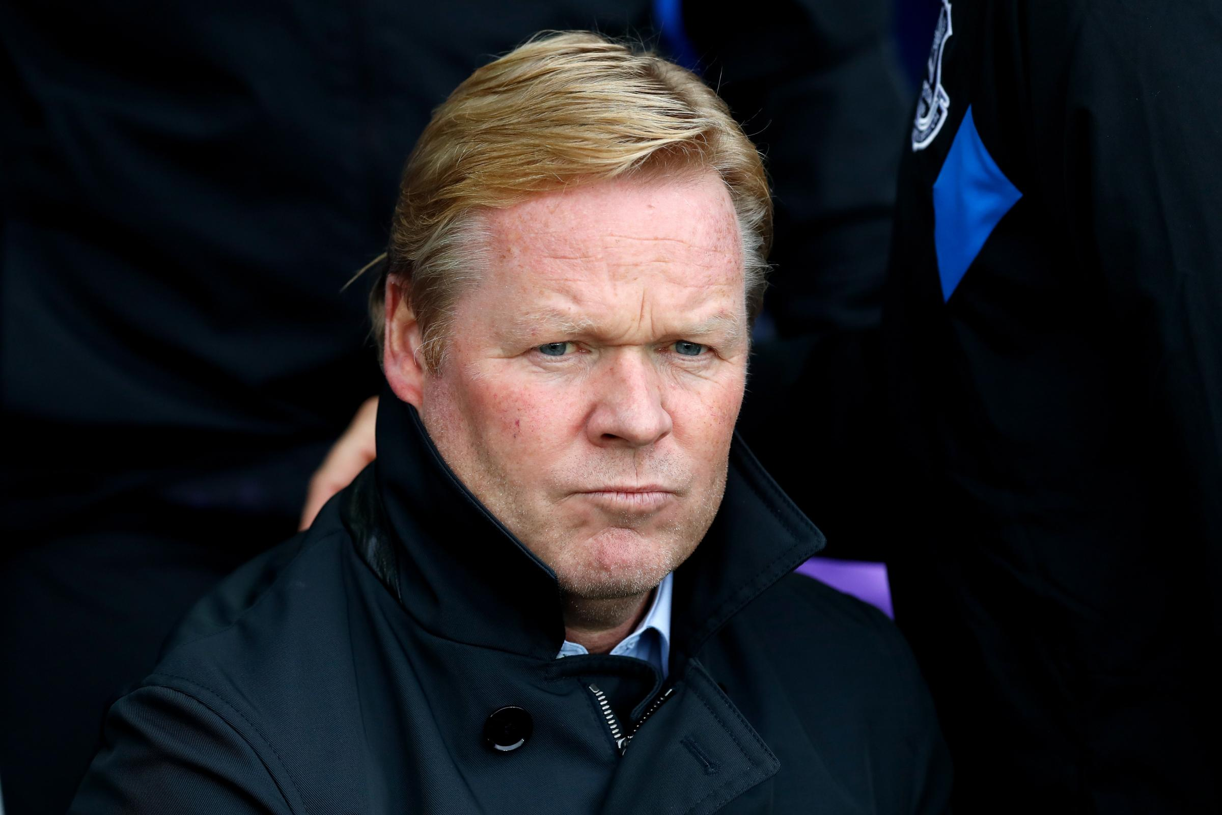 Ronald Koeman has been named Holland boss (Martin Rickett/PA Wire)