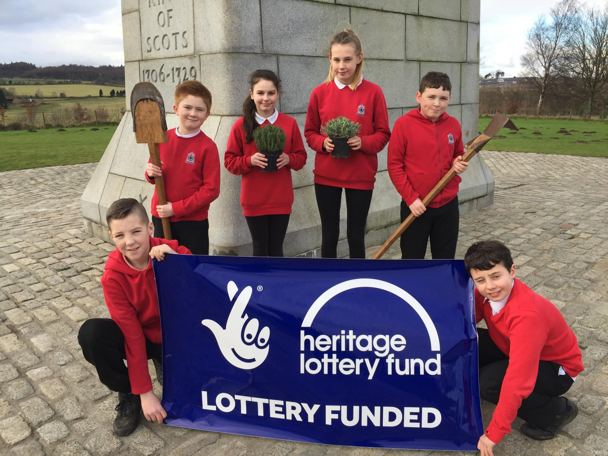 Borestone Primary pupils get ready for Bannockburn project