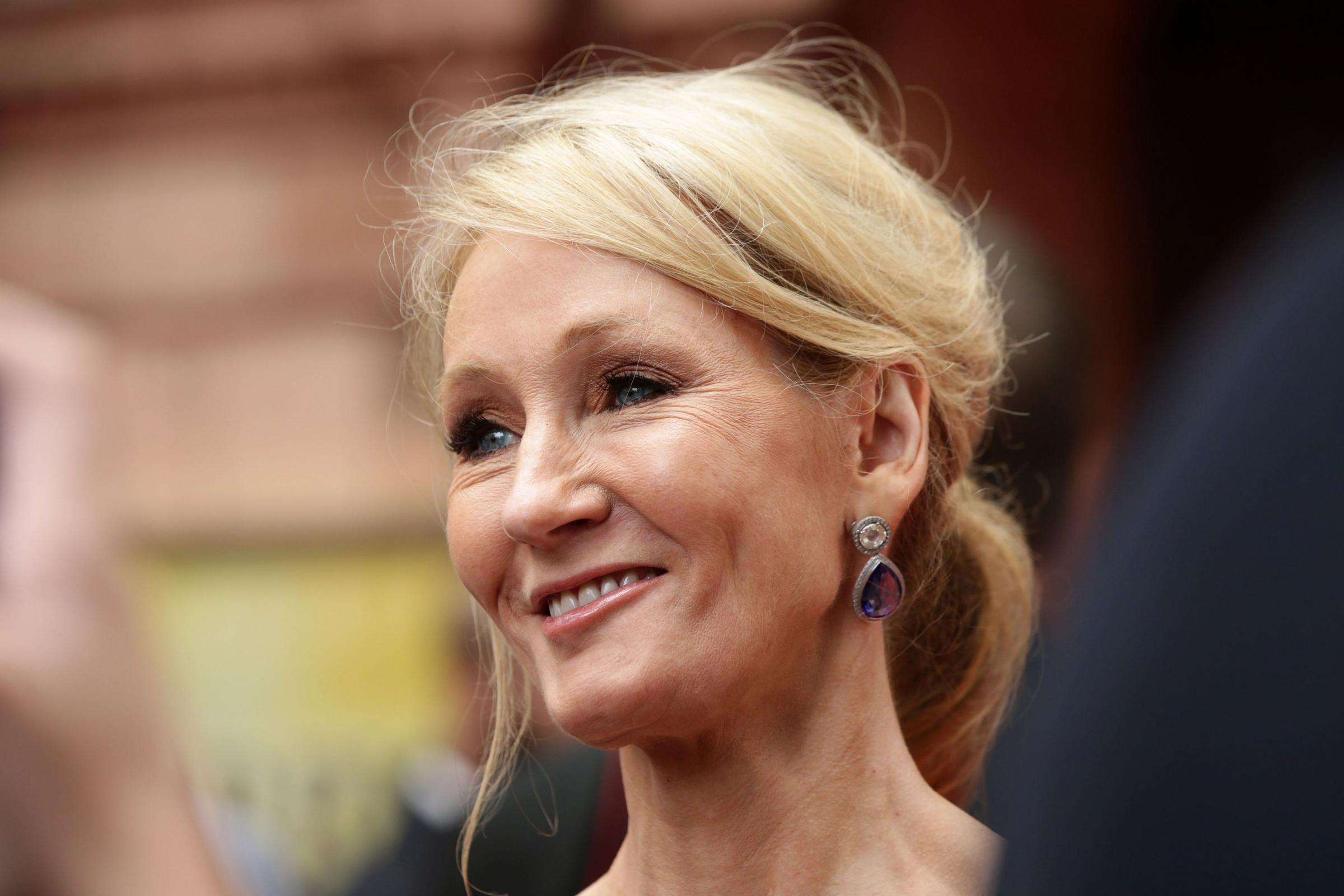 File photo dated 30/07/16 of JK Rowling, who has been made a Companion of Honour in the Queen's Birthday Honours List.