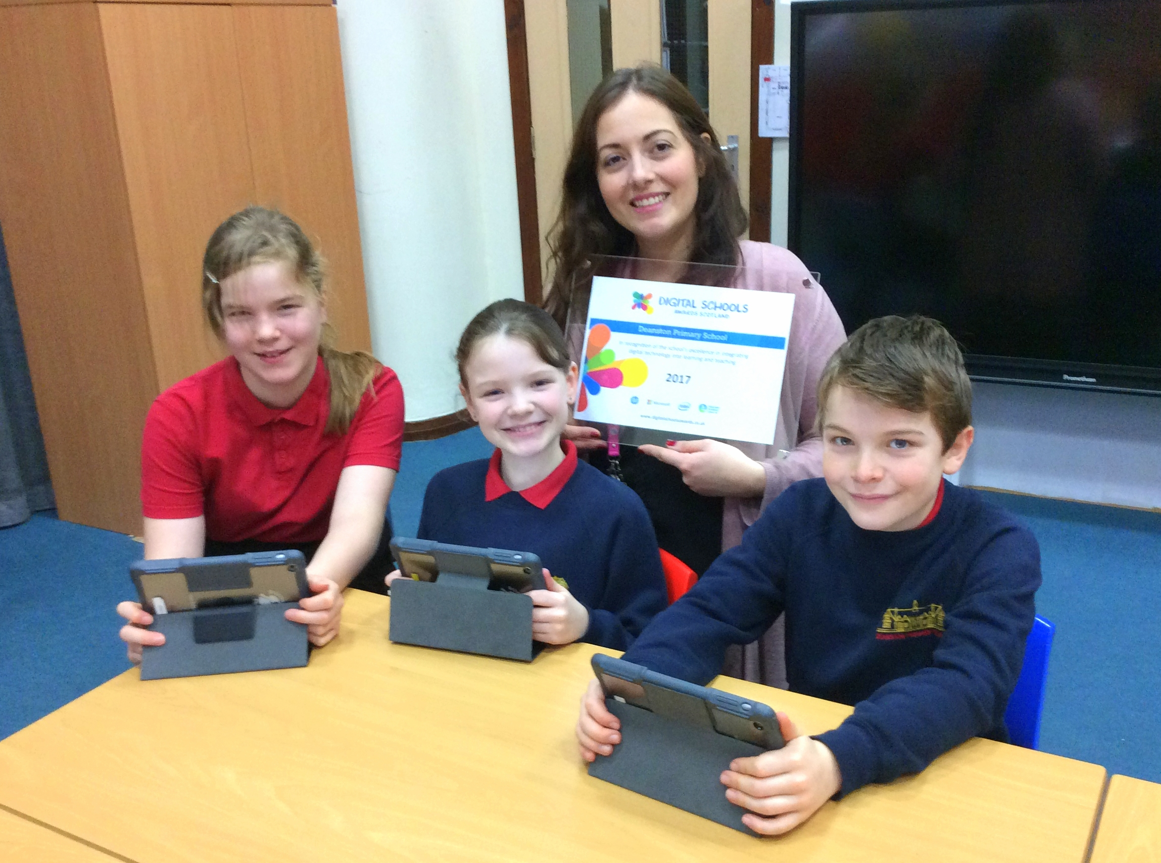 'Digital School' status for Stirling primary