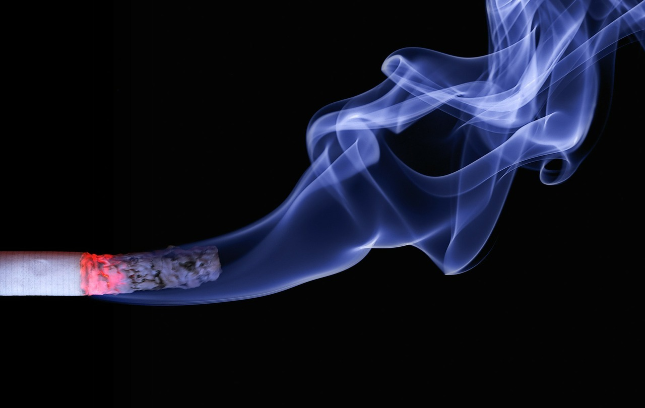 Smoking: stock image for illustration