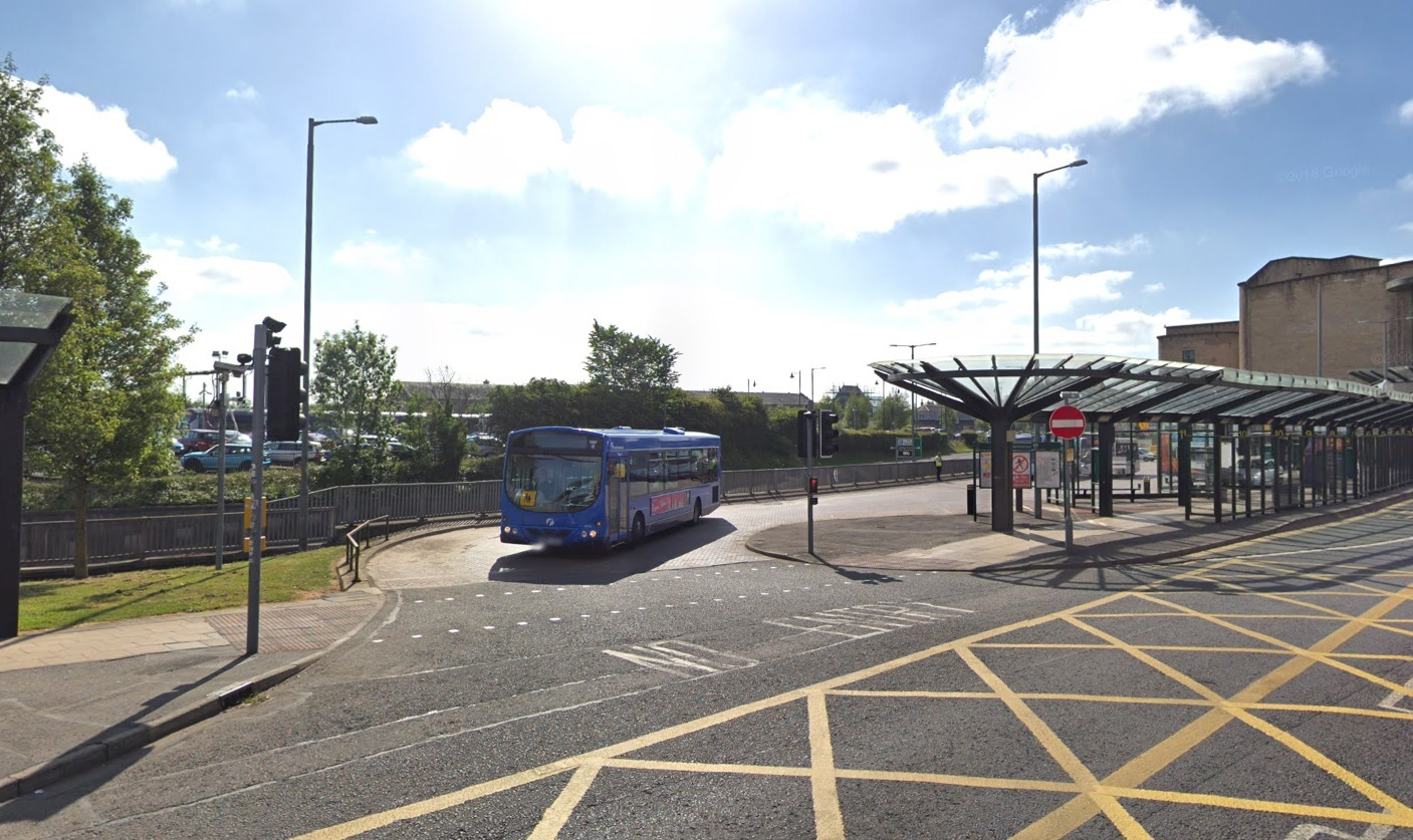 Stirling bus station - Image via Google Maps/Street View