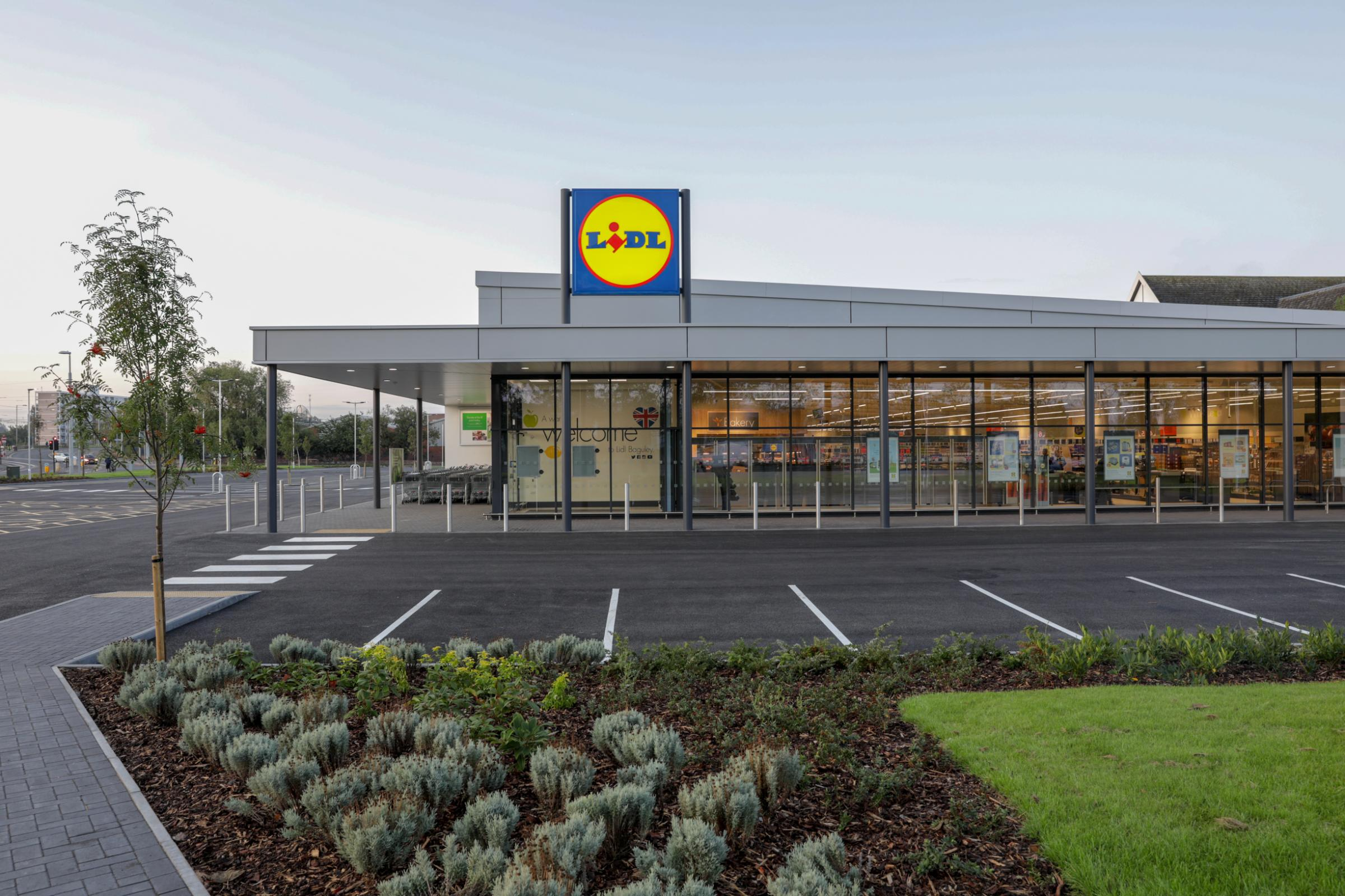 How the new Larkhall store will look when it opens in 2020