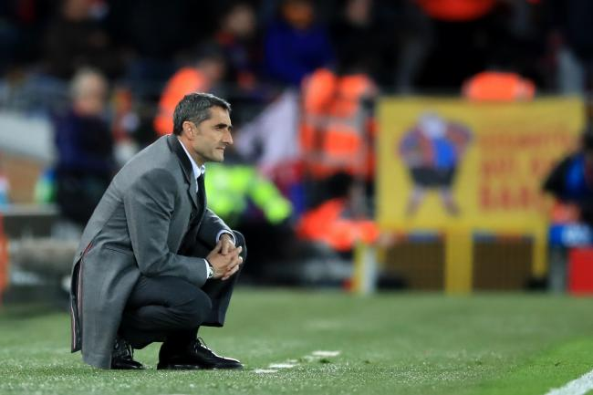 Barcelona coach Ernesto Valverde denies his players have been scarred by their Champions League exit to Liverpool