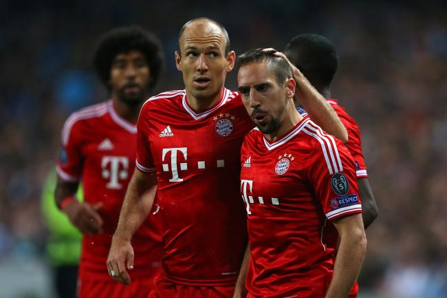 Franck Ribery and Arjen Robben ended their Bayern Munich careers on a high with victory in the DFB-Pokal