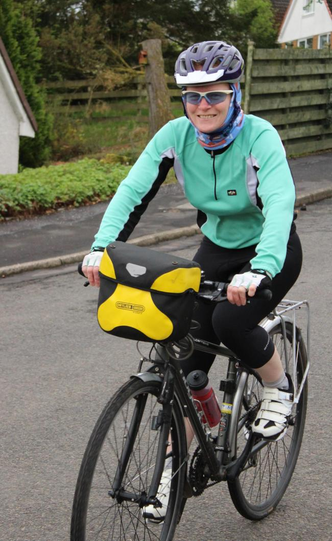 PEDALLING FOR A CAUSE: Isla Routledge will ride for Parkinson's UK