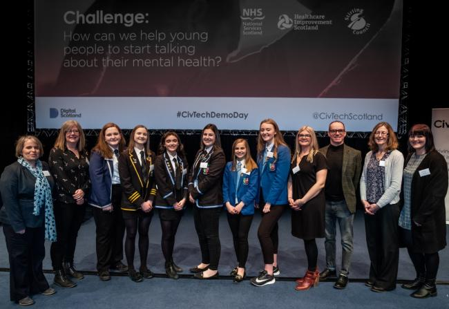 The project was led by Stirling's young people